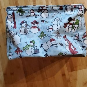 Thirty-one Square Snowman Utility Tote